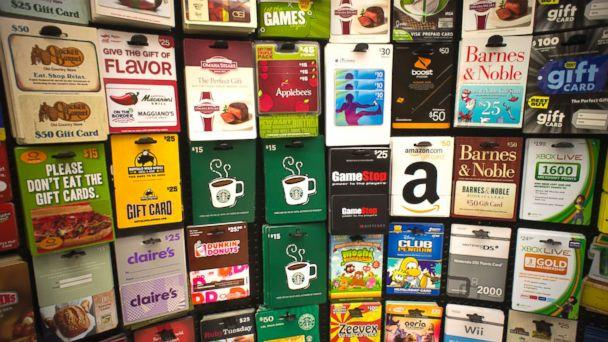 PHOTO: A selection of gift cards in a store in New York, Nov. 2, 2011. (Richard Levine/Corbis via Getty Images)