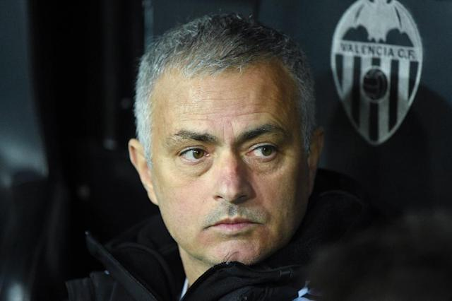 Manchester United manager Jose Mourinho avoids jail but if fined for tax fraud in Spain (AFP Photo/JOSE JORDAN )