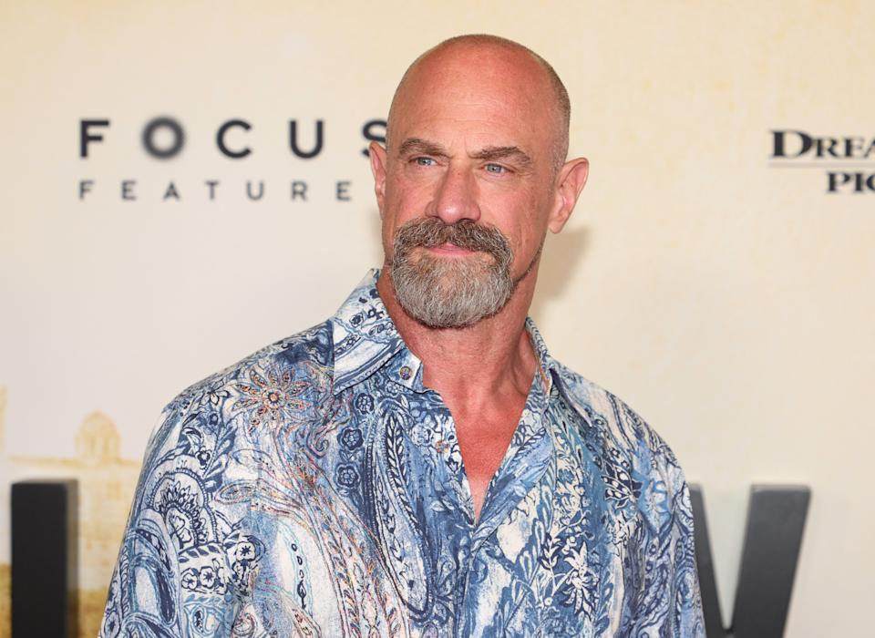 NEW YORK, NEW YORK - JULY 26: Christopher Meloni attends the