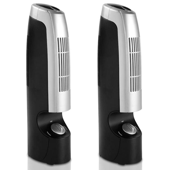 Costway Home Air Purifier and Ionizer (Pack of 2)