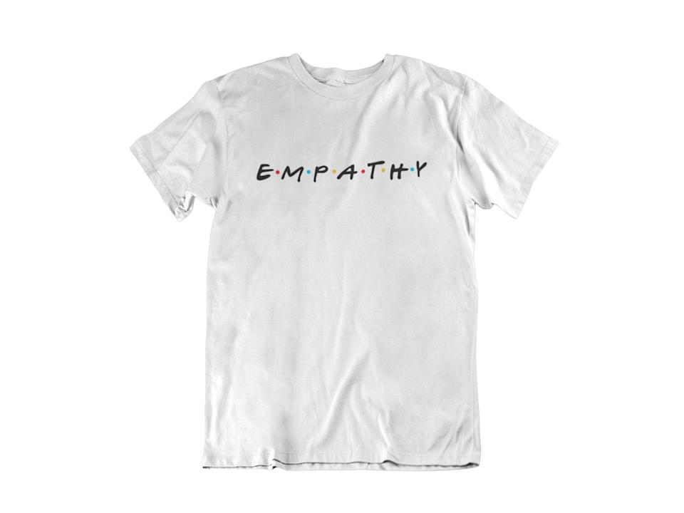 """<p>""""I'm investing in this <b>Friends</b>-inspired <span>Empathy T-Shirt</span> ($30) just because."""" - LS</p>"""