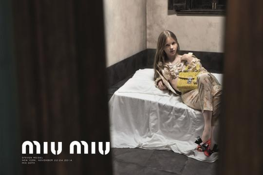 """<p>Mia Goth might be 22 but, according to a single complaint, she looks much younger than that. It took just one person raising issue with the Steven Meisel-lensed campaign for the ASA to jump in and ban the ad for giving """"the impression that [it] presented a child in a sexualized way."""" Goth's splayed on a rumpled bed wearing a ruffled crop top and floral trousers, which the authority said emitted """"an air of vulnerability"""" and a """"a voyeuristic feel.""""</p>"""