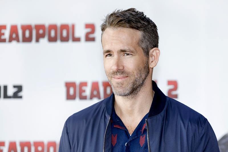 Ryan Reynolds attends the press conference for 'Deadpool 2' in 2018.  (Photo: Isa Foltin via Getty Images)