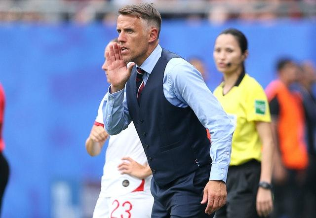 Neville guided England to the semi-finals of the 2019 World Cup (Richard Sellers/PA).
