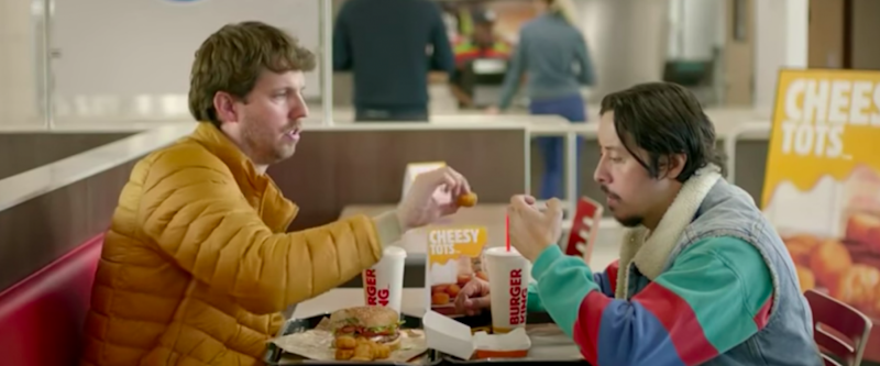BK's Cheesy Tots commercial with Napoleon Dynamite actors