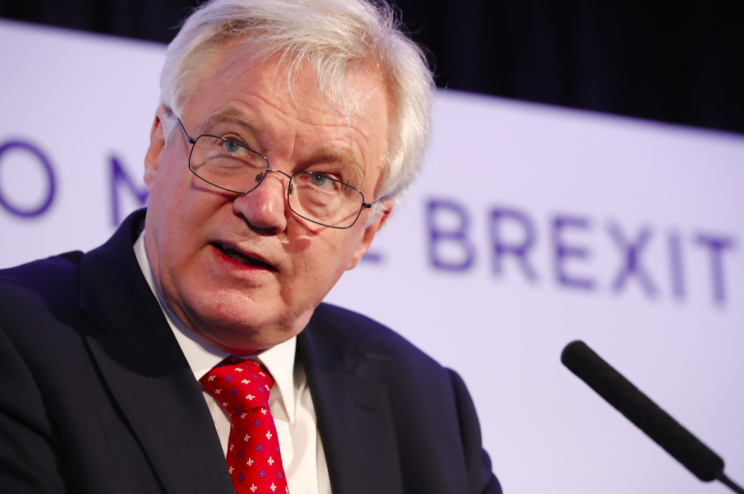 Brexit Secretary David Davis rejected suggestions that Britain would be paying a huge EU divorce bill (Rex)