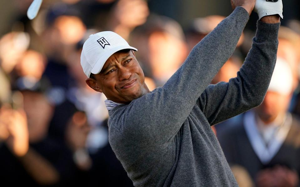 The Memorial tournament will be only Woods's third tournament of 2020 - AP
