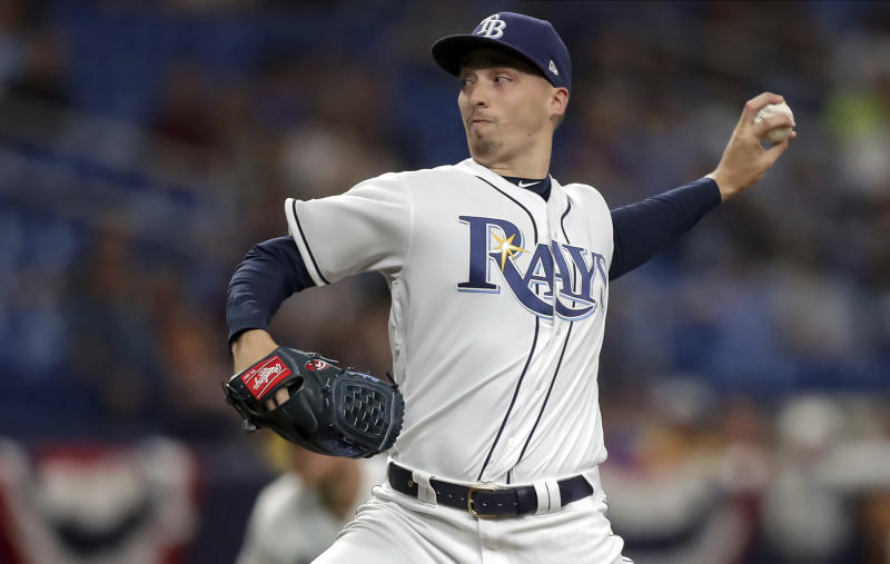 Snell Ks 13, Rays blank Rockies for 5th straight win
