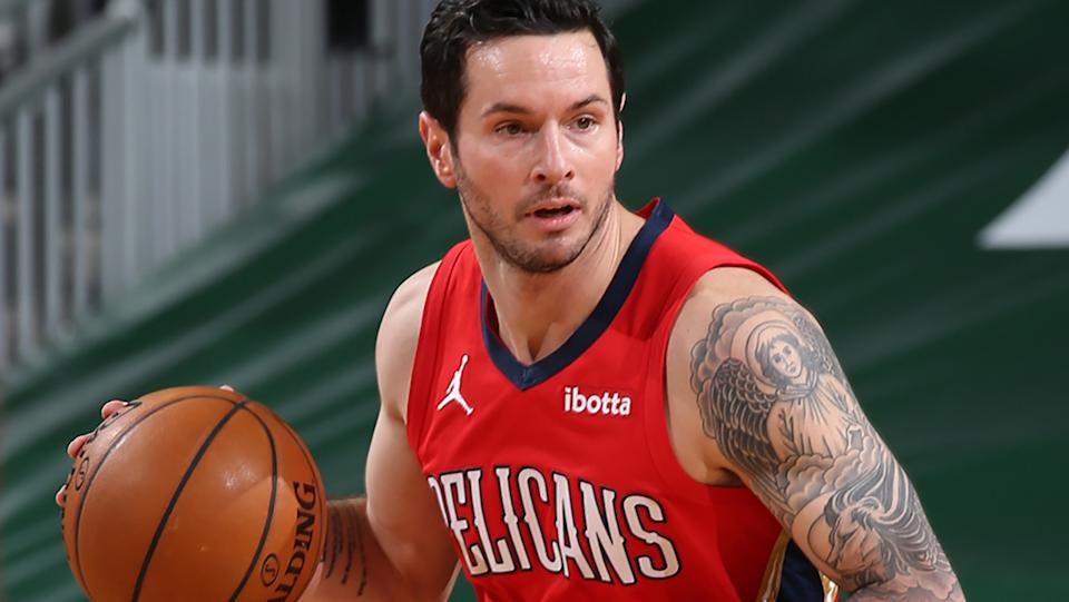 New Orleans have traded sharpshooter JJ Redick to the Dallas Mavericks. (Photo by Gary Dineen/NBAE via Getty Images).