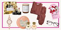 """<p>Every single gift-giving holiday, your mom sits there like Leslie Knope, excitedly watching you open the mountains of <a href=""""https://www.seventeen.com/life/friends-family/g25991062/personalized-gifts/"""" rel=""""nofollow noopener"""" target=""""_blank"""" data-ylk=""""slk:thoughtful gifts"""" class=""""link rapid-noclick-resp"""">thoughtful gifts</a> she bought you. So you <em>better </em>have an amazing present (or two)(or five) to give her on the one day a year that's all about her. </p><p>It's hard, though, because anything Mom really needs, she can just buy for herself. That's why you need to think of something crazy special–a gift idea she'll appreciate extra because it came from her daughter with love. And you're not going to get that from a sweater you found at the mall. Instead, shop unique presents (like the ones on this list) that are the perfect combo of creative, useful, and super touching. Oh, and be prepared for the sentimental mom tears.</p>"""