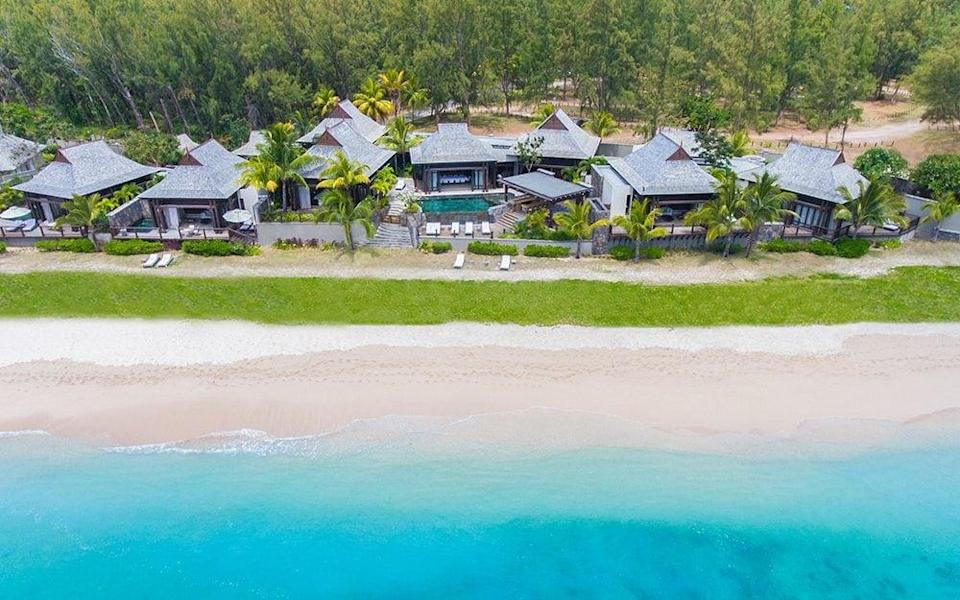 Guests be booked into a resort, like the St Regis - St Regis