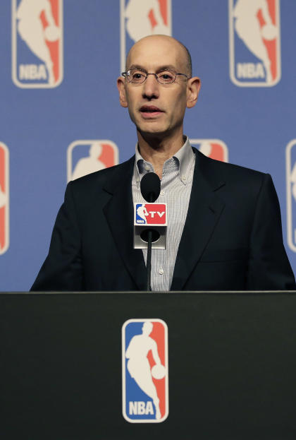NBA Commissioner Adam Silver led the push to force Sterling to sell the Clippers. (AP)