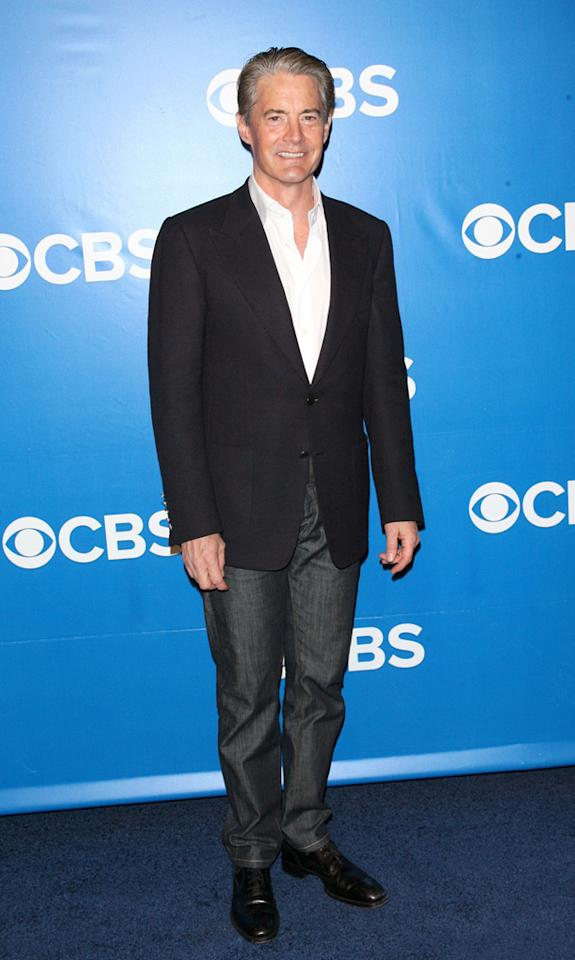 "Kyle MacLachlan (""Baby Big Shot"") attends CBS's 2012 Upfront Presentation on May 16, 2012 in New York City."