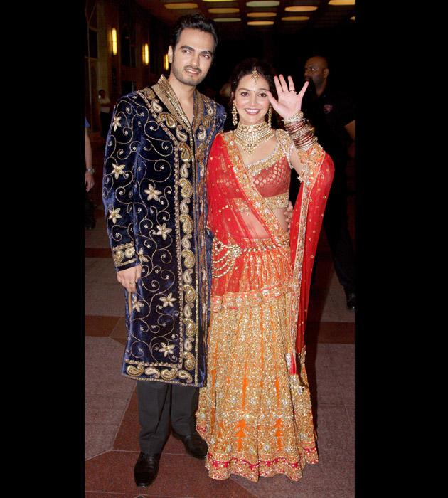 Look whom we spotted at Esha's sangeet