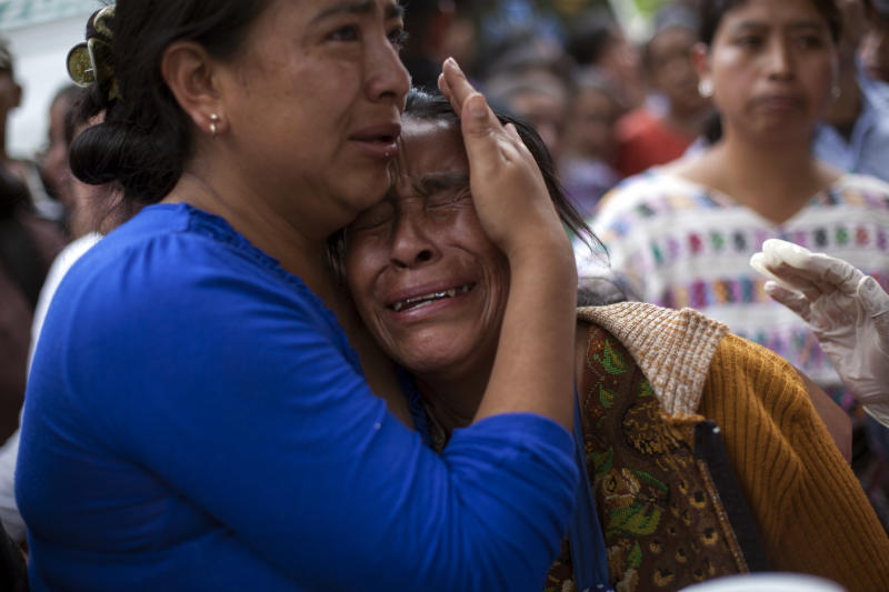 Official: At least 44 dead in Guatemala bus crash