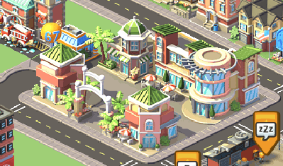 Social City Shopping District from Market Street