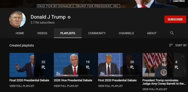 Donald Trump YouTube
