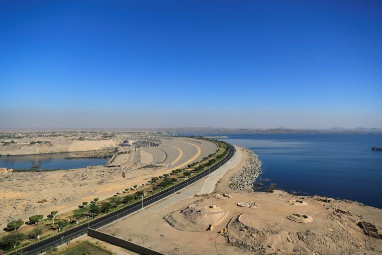 Egypt's Aswan High Dam and Lake Nasser: the building of the dam was spearheaded in the early 1950s by charismatic pan-Arabist president Gamal Abdel Nasser