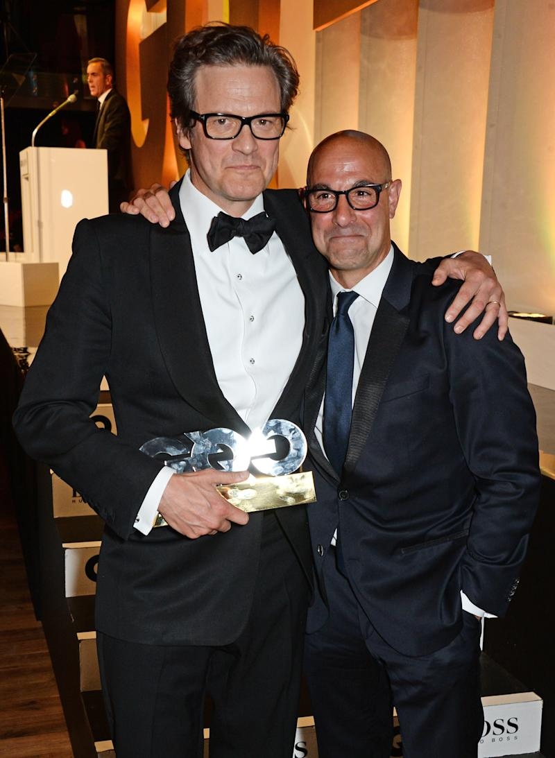 Stanley Tucci and Colin Firth, Perfect Men, Will Play Partners in a New Movie