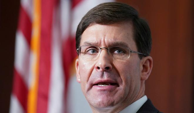 US Secretary of Defence Mark Esper says he wants to visit China this year. Photo: Reuters