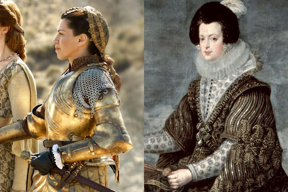 <p><em>The Spanish Princess</em> is Catherine's story, so the role of Queen Isabella is a relatively small one, but the presence of the iconic Spanish monarch, who is played by Alicia Borrachero, is felt throughout the series. </p>