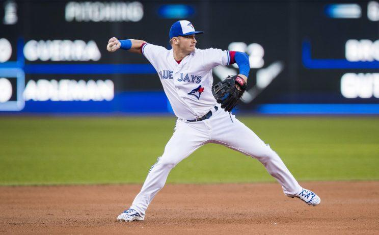 Josh Donaldson would be a huge July prize if the Jays decide to trade him. (AP)
