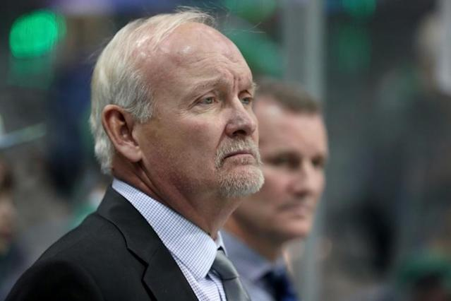 Lindy Ruff previously served as head coach of the Buffalo Sabres for 15 seasons and the Dallas Stars for four seasons (AFP Photo/TOM PENNINGTON)