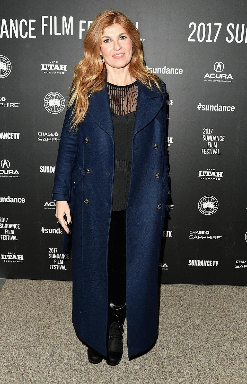 <p>The 'Nashville' star also makes the scene for 'Beatriz at Dinner.' (Photo: George Pimentel/Getty Images) </p>