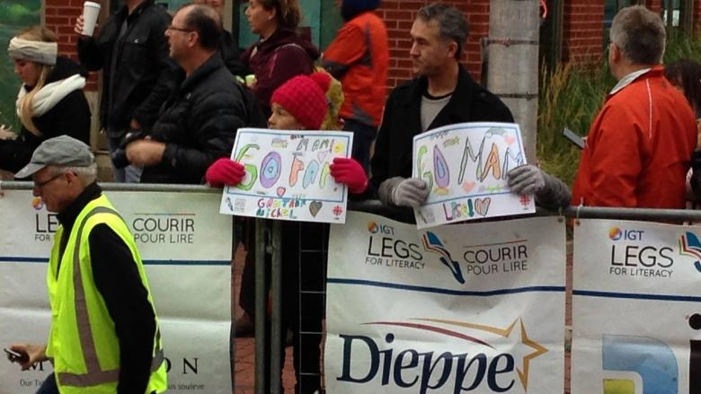 Legs for Literacy race inspiring says race director