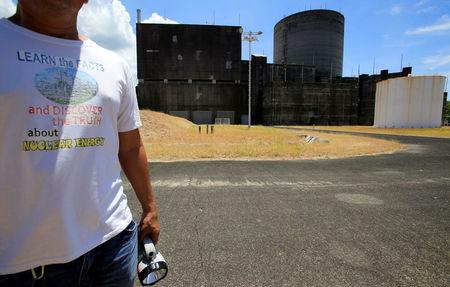 The Bataan Nuclear Power Plant (BNPP) is seen during a tour around the BNPP compound in Morong town, Bataan province, north of Manila, Philippines May 11, 2018. Picture taken May 11, 2018. REUTERS/Romeo Ranoco