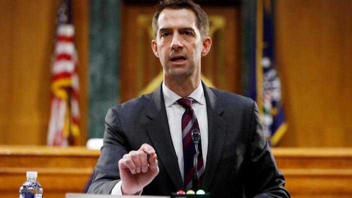 Tom Cotton Calls Slavery 'a Necessary Evil'