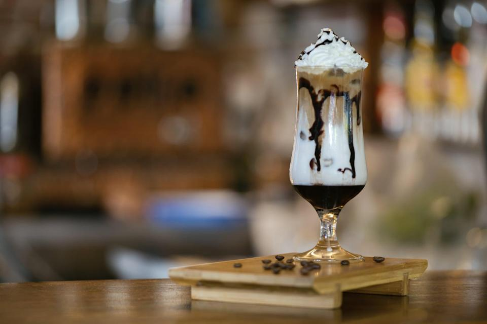 """<p>Coconut, rum, and creme de cacao are all North Carolinians need to get through this quarantine, or at least that's what their searches tell us. This rich drink will put any milkshake to shame, trust us.</p> <p><strong>Get the recipe</strong>: <a href=""""https://www.popsugar.com/buy?url=https%3A%2F%2Fwww.myrecipes.com%2Frecipe%2Fcaribbean-bushwacker&p_name=Caribbean%20bushwacker&retailer=myrecipes.com&evar1=yum%3Aus&evar9=47471653&evar98=https%3A%2F%2Fwww.popsugar.com%2Ffood%2Fphoto-gallery%2F47471653%2Fimage%2F47475467%2FNorth-Carolina-Bushwacker&list1=cocktails%2Cdrinks%2Calcohol%2Crecipes&prop13=api&pdata=1"""" class=""""link rapid-noclick-resp"""" rel=""""nofollow noopener"""" target=""""_blank"""" data-ylk=""""slk:Caribbean bushwacker"""">Caribbean bushwacker</a></p>"""