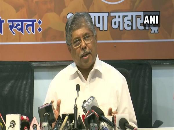 Maharashtra BJP President Chandrakant Patil (File Photo/ANI)