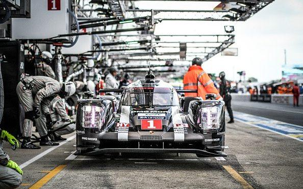 LMP1 Porsche Team (DEU), #1 Porsche 919 Hybrid with Drivers Timo Bernhard (DEU), Mark Webber (AUS) and Brendon Hartley (NZL) during the 84th running of the Le Mans 24 Hours on June 18, 2016 in Le Mans, France. (Photo by Gerlach Delissen/Corbis via Getty Images) - Credit: Corbis Sport/Gerlach Delissen - Corbis