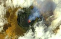 Mount Nyiragongo spewed rivers of lava that claimed nearly three dozen lives and destroyed the homes of some 20,000 people