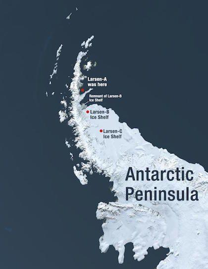 The Antarctic Peninsula.