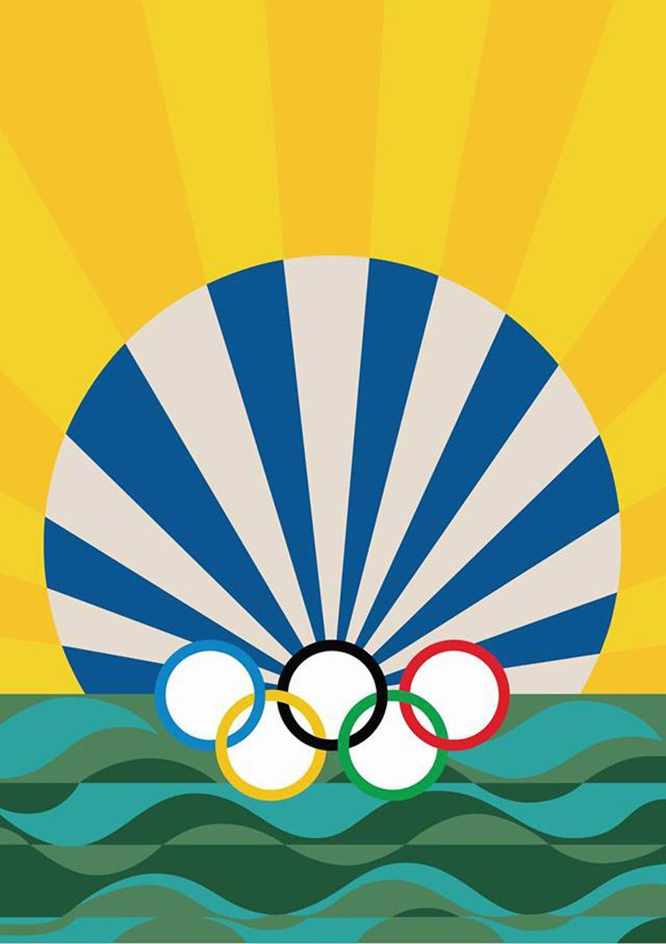 The official Rio Olympics posters were just unveiled and they are incredibly cool