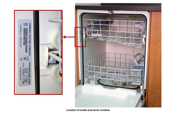 GE Recalls 1.3 Million Dishwashers