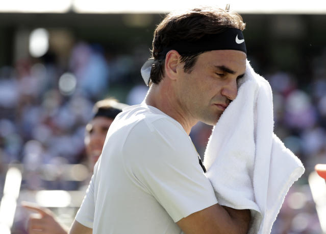 "<a class=""link rapid-noclick-resp"" href=""/olympics/rio-2016/a/1221919/"" data-ylk=""slk:Roger Federer"">Roger Federer</a> will skip clay season and the French Open for the second straight year. (AP)"