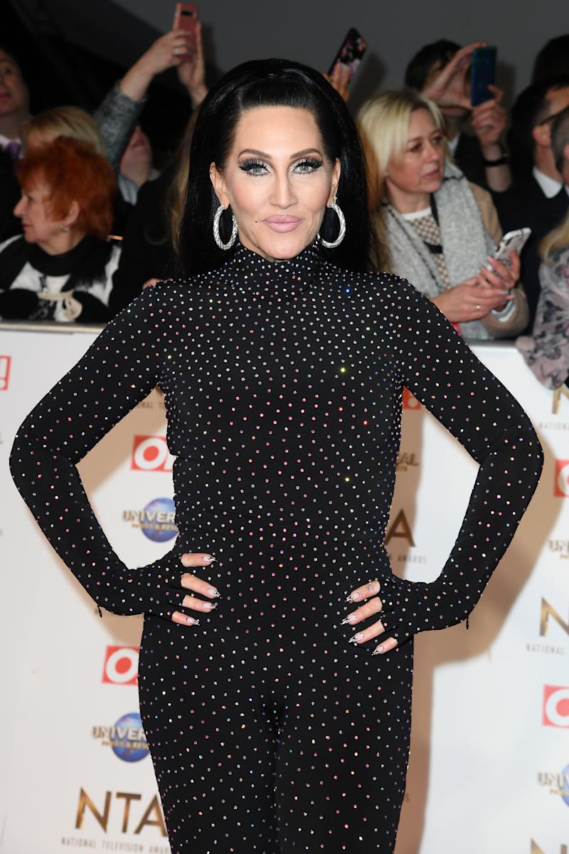 Michelle Visage attends the National Television Awards 2020 at The O2 Arena on January 28, 2020 in London, England. (Photo by Gareth Cattermole/Getty Images)