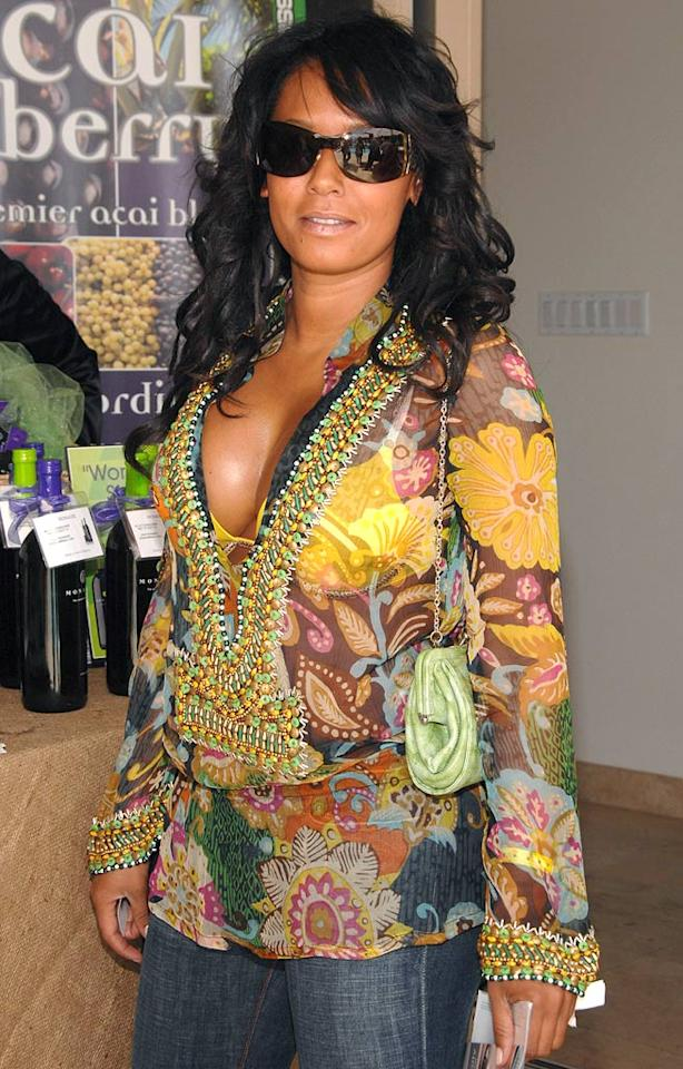 """Melanie Brown at the 2007 Silver Spoon MTV Movie Awards Gifting Suite. Jean-Paul Aussenard/<a href=""""http://www.wireimage.com"""" target=""""new"""">WireImage.com</a> - May 31, 2007"""
