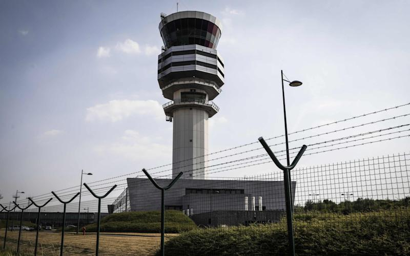 Air traffic controllers were surprised to hear the unusual request - AFP