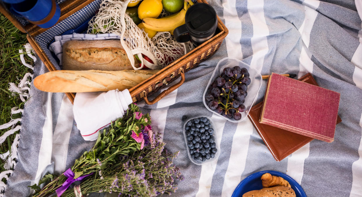 A poll has revealed the picnic basket items that people believe are really rather past-it. (Getty Images)