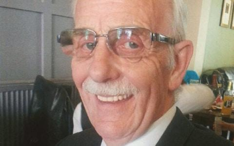 <span>Harry Gill was 72 when he died </span> <span>Credit: Accrington Observer - MEN media  </span>