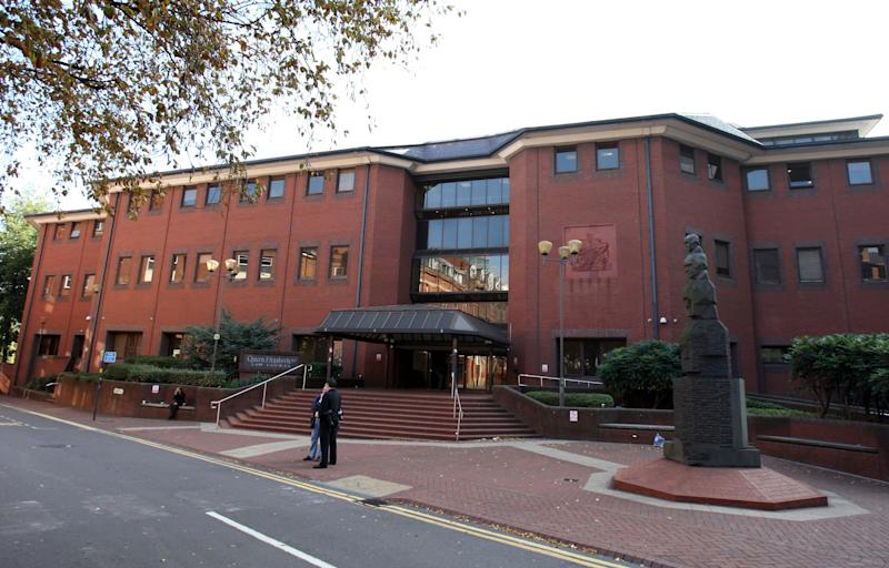 A general view of Birmingham Crown Court in Birmingham, West Midlands.