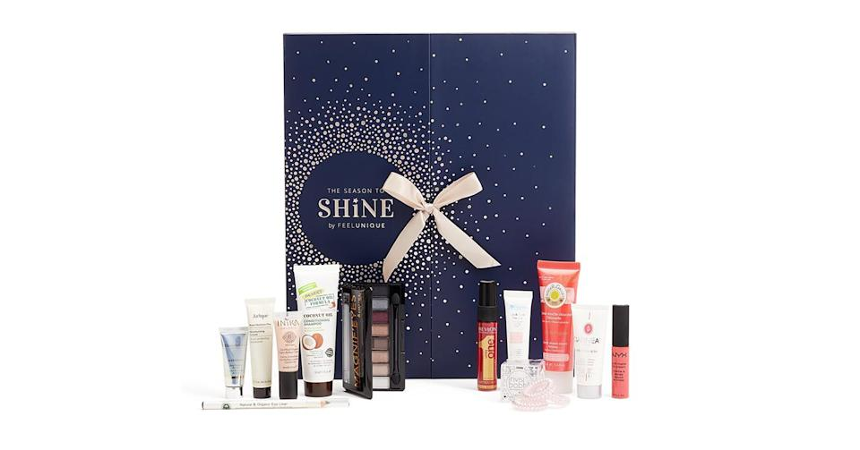 <p>Elizabeth Arden, Jurlique, The Organic Pharmacy and Rimmel are just some of the big name brands that you'll find in FeelUnique's £35 advent calendar. <em>Available at feelunique.com. </em> </p>