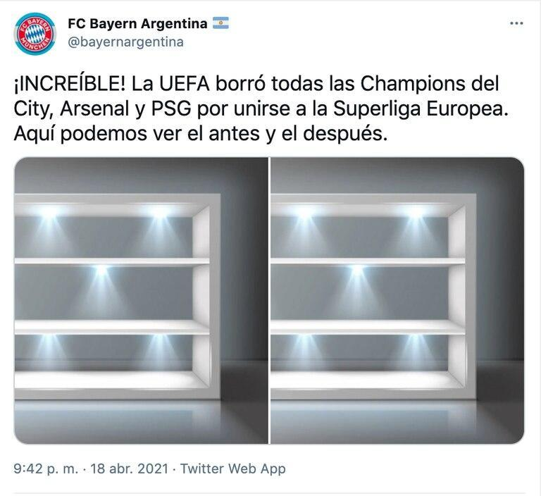 La burla al PSG, City y Arsenal