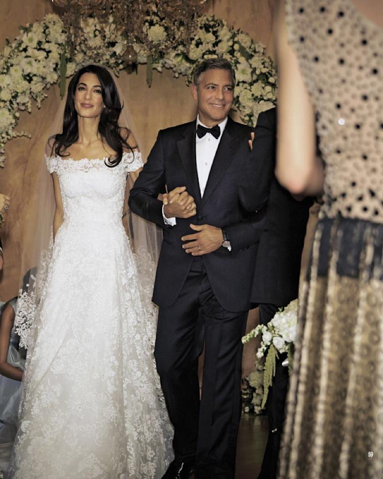 <p><p>What fashion girl could forget Amal Clooney's iconic wedding dress? The Oscar de la Renta masterpiece earned its place in fashion history as the designer's last bridal gown before he passed away three years ago. So it's only fitting that the ivory-beaded tulle beauty found its way to an exhibition at the Museum of Fine Arts in Houston, where it'll be on display for every wandering eye lucky enough to make a trip down South to see it.</p>                                                                                                                                                                               <h4>@amalclooney</h4>