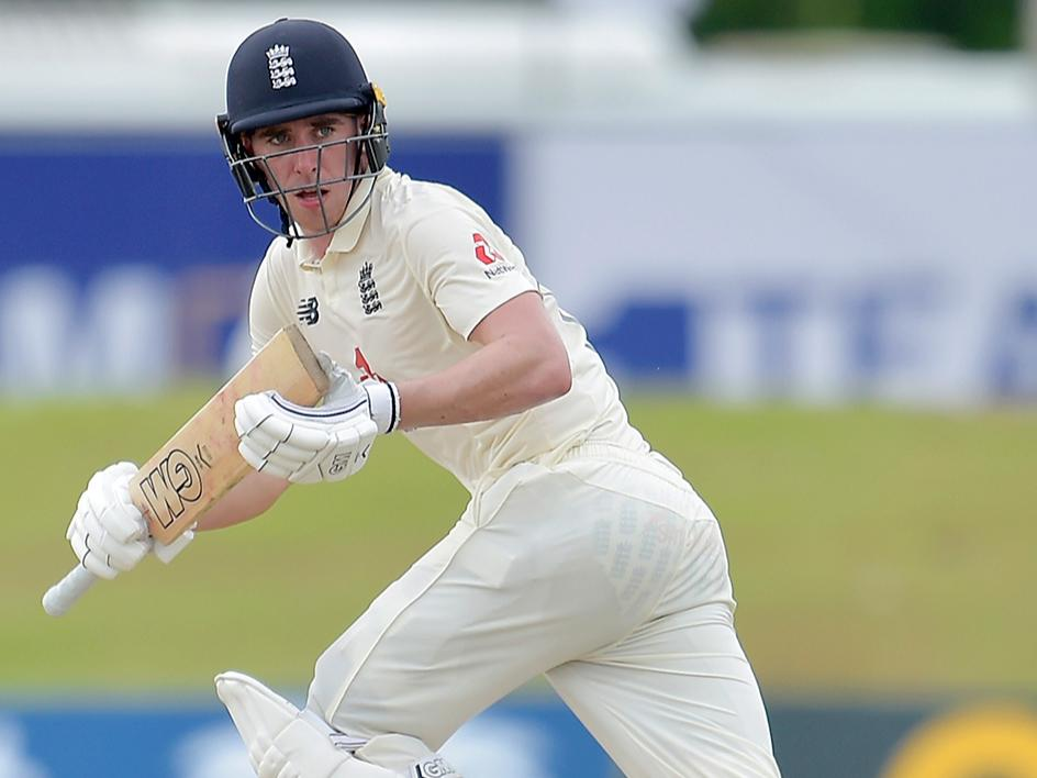 England debutant Dan Lawrence impressed throughout (ECB)
