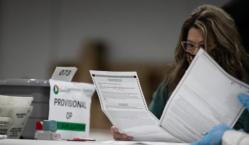 A recount is expected in Georgia, where the two candidates have fought a particularly close race. Photo: AFP